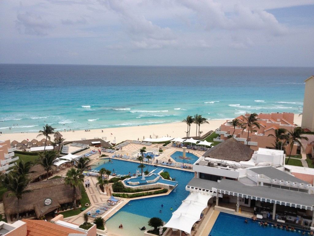 We spent a week at the Omni Cancun. It was actually a lot of fun and a very family-friendly place (though they could have fewer stairs for those of us carting a damn stroller everywhere).
