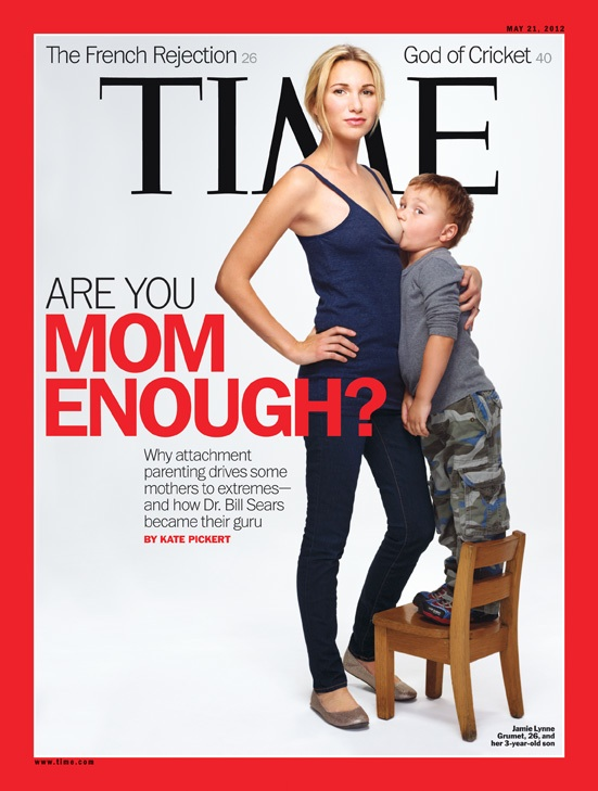 The ultimate Mommy War-sparking magazine cover.