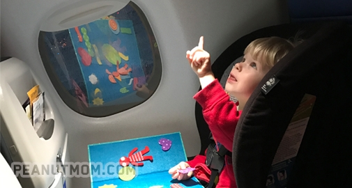 Air travel with babies & toddlers: car seats and the CARES harness ...