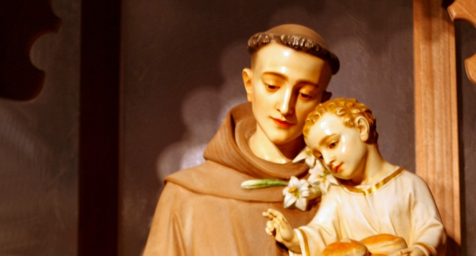 St. Anthony, Patron Saint of Lost Things